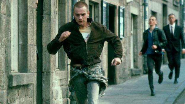 Ewan McGregor rennt in «Trainspotting».