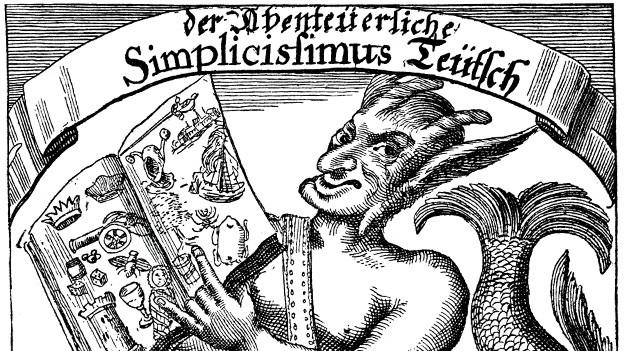 Kupferstich des Simplicissimus Teutsch.