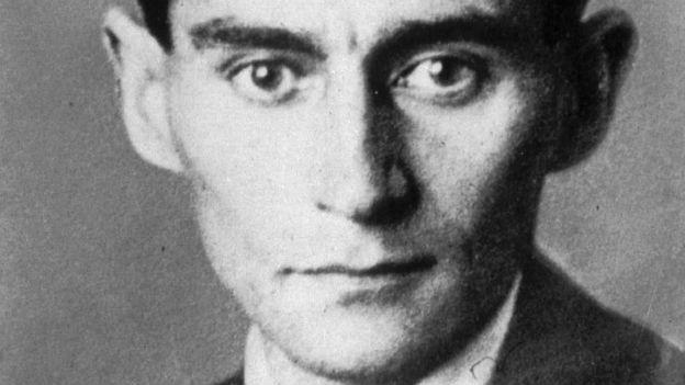Franz Kafka im Porträt.