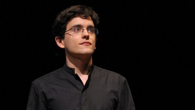 Lorenzo Soulès an den Flâneries Musicales 2013 am «Conservatoire à Rayonnement Régional» von Reims