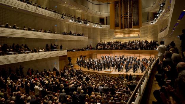 Der Konzertsaal des KKL ist ein zentraler Schauplatz des «Lucerne Festival»