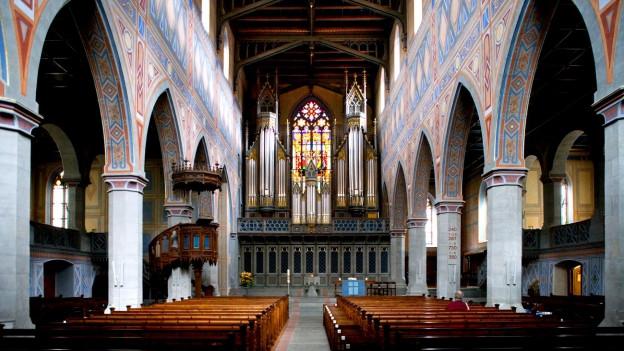 Kirche St. Laurenzen, St. Gallen.