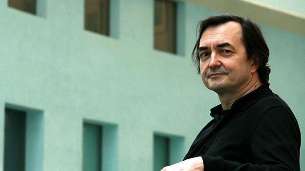 Pierre-Laurent Aimard in der Cité de la Musique, 2008.