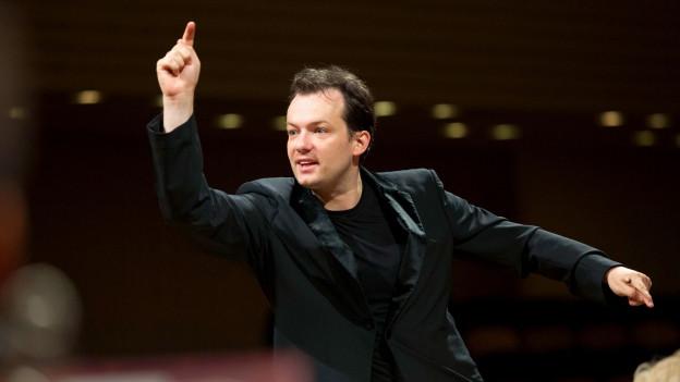 Andris Nelsons dirigiert die Eröffnung des Lucerne Festivals.