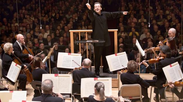 Das Boston Symphony Orchestra unter der Leitung von Andris Nelsons.