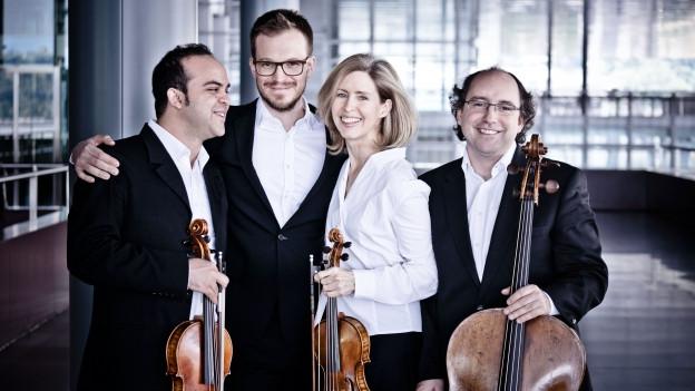 Das Merel Quartet im KKL Luzern.