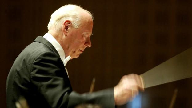 Dirigent Bernard Haitink.