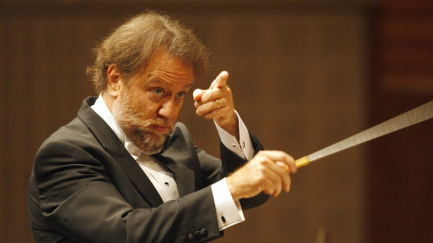 Riccardo Chailly mit Orchester
