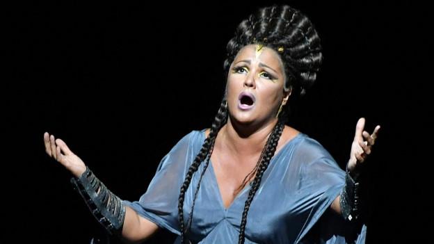 Anna Netrebko in «Aida».