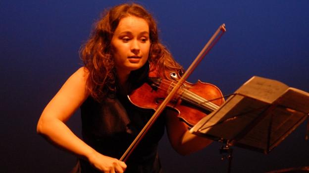 Die Violinistin Patricia Kopatchinskaja