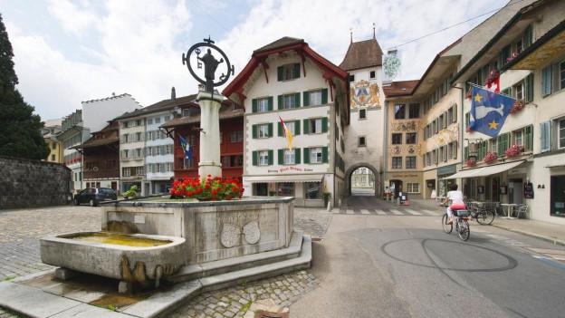 Dorfplatz von Willisau
