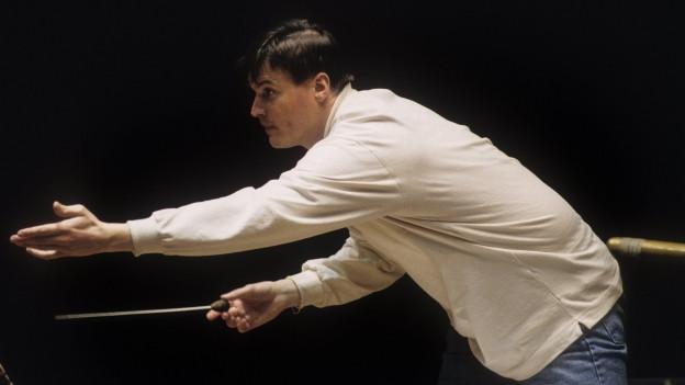 Christian Thielemann während einer Probe