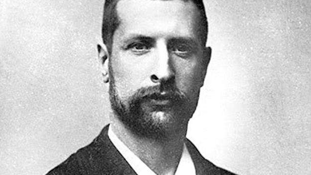 Mediziner und Mikrobiologe Alexandre Yersin.