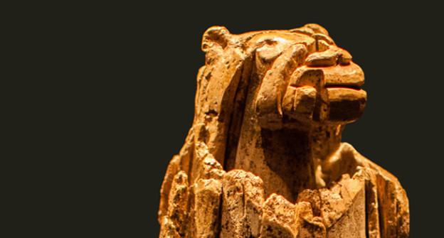 Löwenmensch aus dem Lonetal (datiert etwa 35 000 v. Chr.).