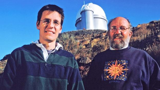 Didier Queloz und Michel Mayo