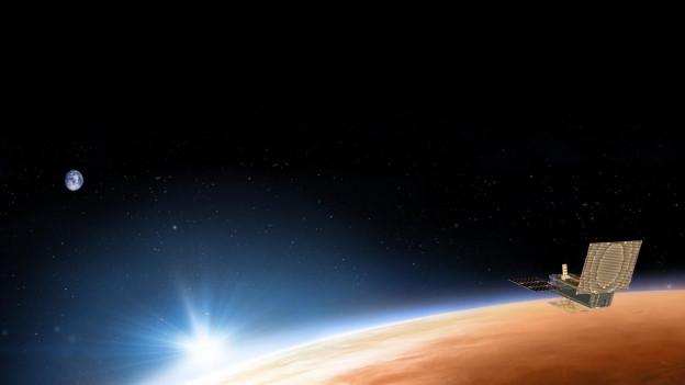 Eine neue Marssonde der Nasa misst Erdbeben, und das gibt Hinweise auf die innere Struktur des Planeten.