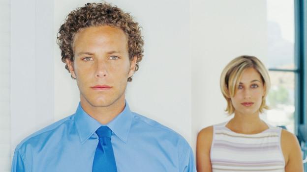 Ein Mann und eine Frau