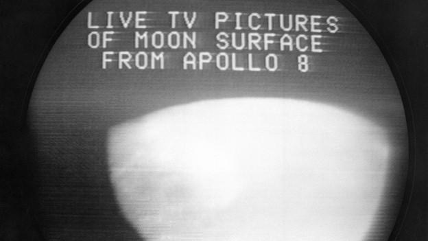 Am 24.12.1968 teilten die Astronauten der Apollo 8 ihre Aussicht mit dem Fernsehpublikum.