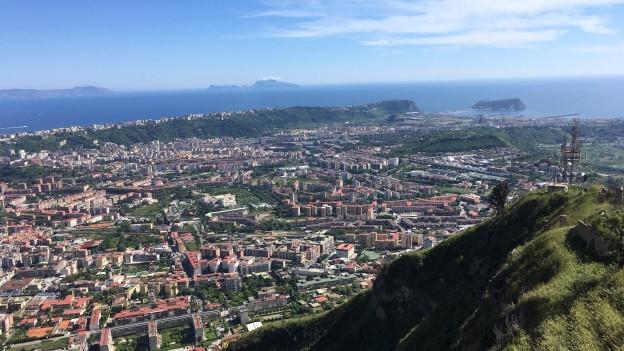 Eine Landschaft in Süditalien