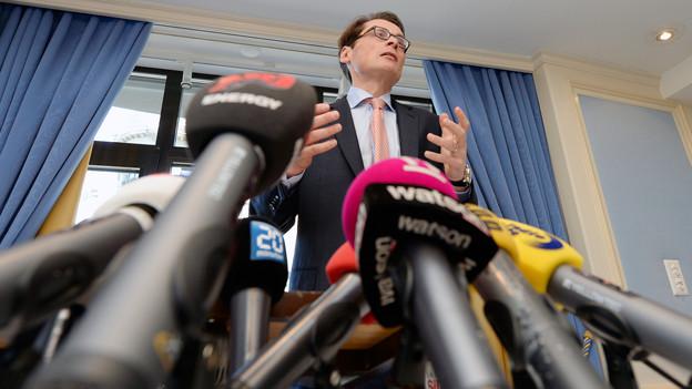 Der «Weltwoche»-Chefredaktor und -Verleger Roger Köppel will ins Bundshaus.