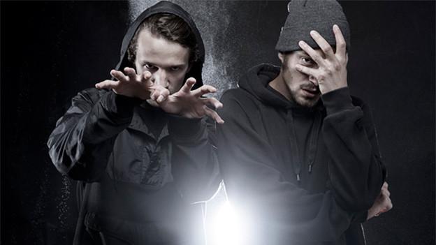 Ihre Musik regt zum Nachdenken an und liefert fulminante Punchlines: Flew und Luzi, vom Luzerner Rap-Duo Moskito.