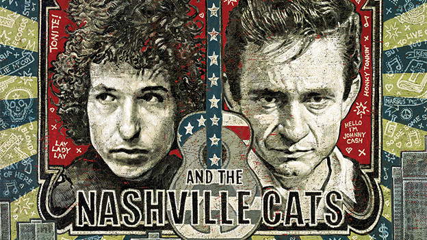 Das Cover von Dylan, Cash, and the Nashville Cats: A Music City