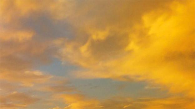 Gelber Himmel
