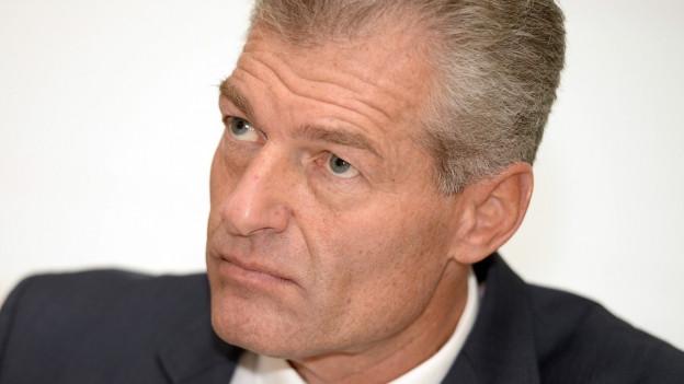 Heinz Karrer, Präsident des Wirtschaftsdachverbands Economiesuisse