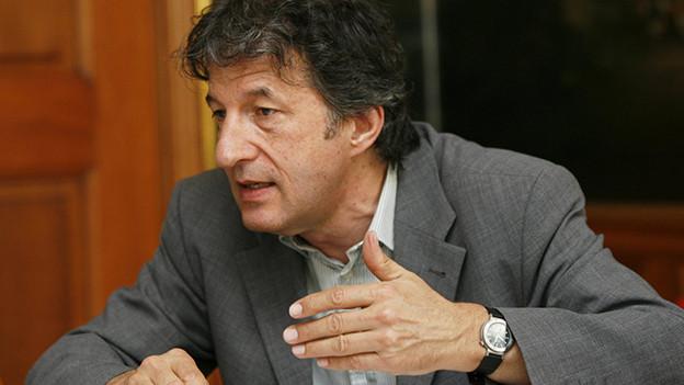 Historiker Jakob Tanner zu Gast bei Hannes Hug.
