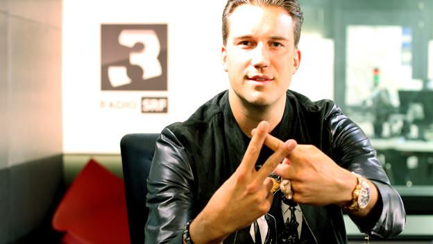 DJ Antoine zu Gast bei SRF 3