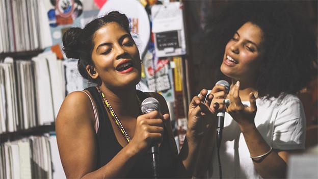 Lisa Kaindé und Naomi Diaz