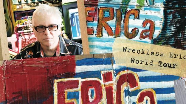 Porträt von Wreckless Eric.