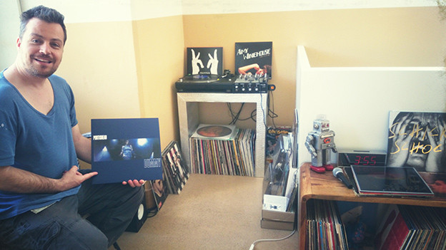 Vinyl ist Trumpf! Die Plattensammlung von SRF 3 Moderator Sascha Rossier.