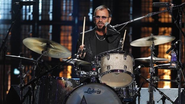 Ringo Starr bei einem Auftritt im April 2015
