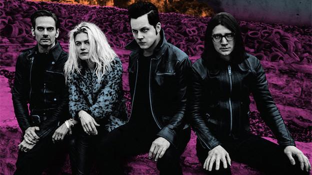 Die vier Mitglieder von Dead Weather