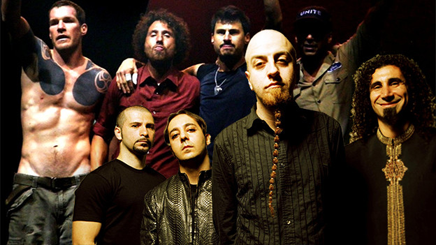 Rage Against the System of A Down