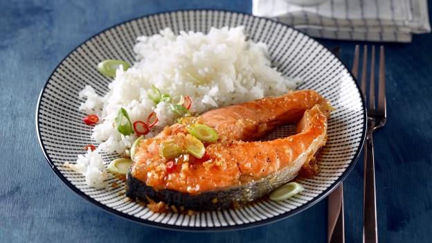 Caramelisierter Fisch.