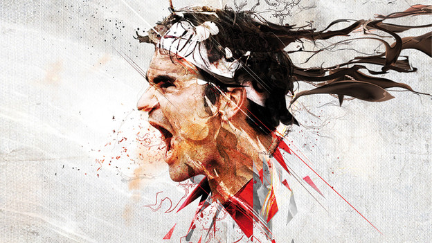 Roger Federer - die Ikone