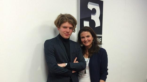 Crimer und Judith Wernli im SRF 3 Studio