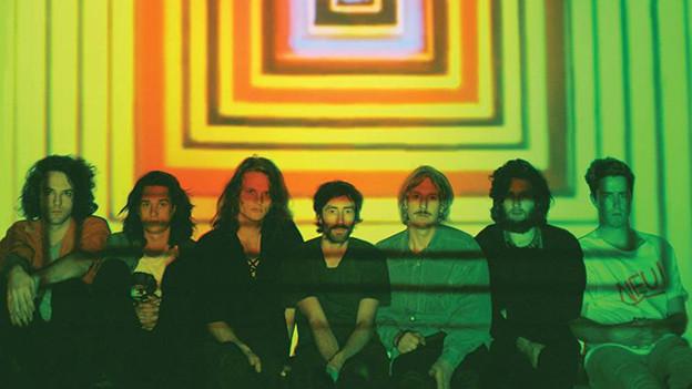 Die 7-köpfige australische Band King Gizzard & The Lizard Wizard