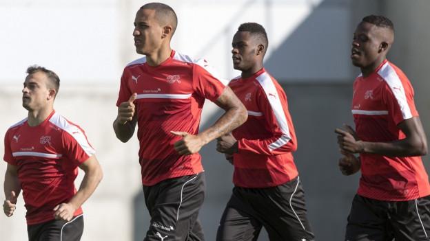 Nati trainiert in Andorra.