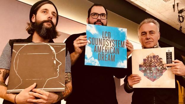 2 Stunden beste Alben: Die «Sounds!»-Crew mit Lieblingsplatten.