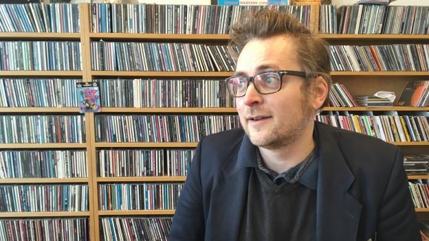 Schöner Besuch im Sounds! Büro: David Langhard heute im Interview