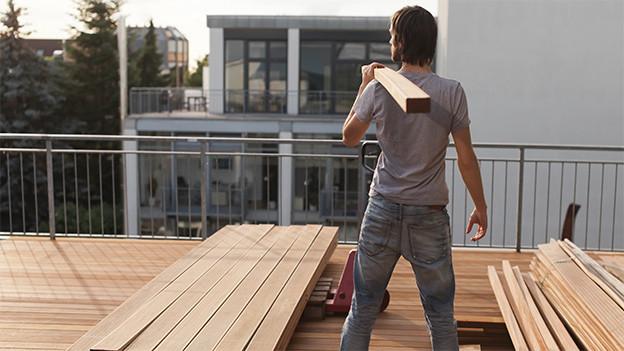 Bauliche Veränderungen führen oft zum Streit zwischen Nachbarn.