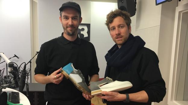 Stefan Rechsteiner und Patrick Rüegg von VELT