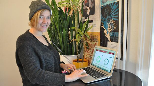 Hat für uns den Facebooktest gemacht: SRF 3 Moderatorin Anic Lautenschlager.