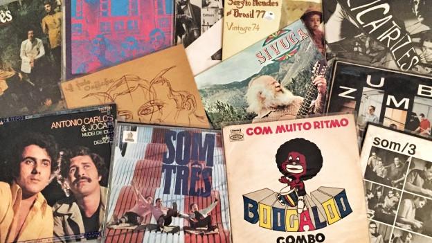 Rare brasilianische Grooves aus DJ Pesas Plattensammlung.