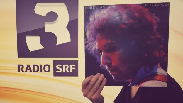 Bob Dylan im SRF3 Studio