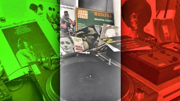 DJ Pesas Vinyl-Schätze aus Italien.