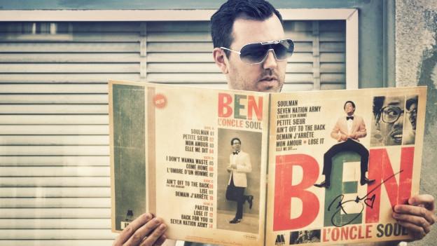 DJ Pesa mit Ben L'Oncle Souls Debutalbum